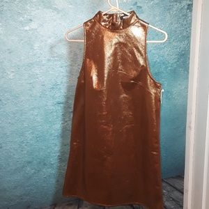 💋2 for $20 sale! Missguided bronze dress size 2